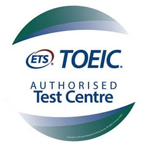 Le logo pour passation du test TOEIC Listening and Reading à La Rochelle
