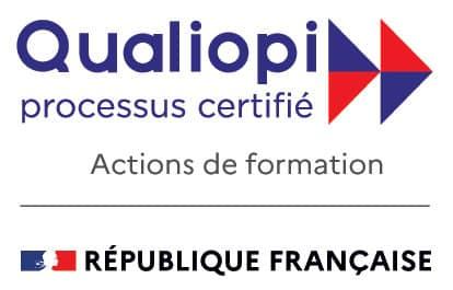 Certificat Qualiopi, garantissant une haute qualité de formation, obtenu par inlingua La Rochelle